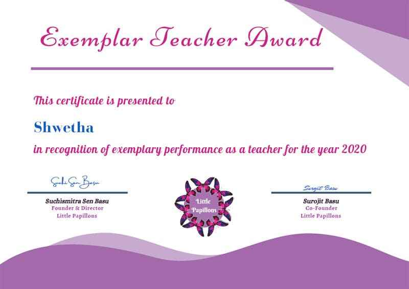 Exemplar-Teachers-Award